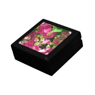 Caja de regalo del Hydrangea de las rosas fuertes