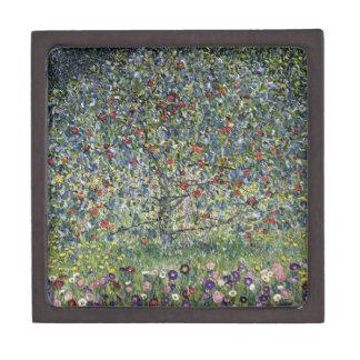 Caja de regalo del manzano de Gustavo Klimt Cajas De Regalo De Calidad