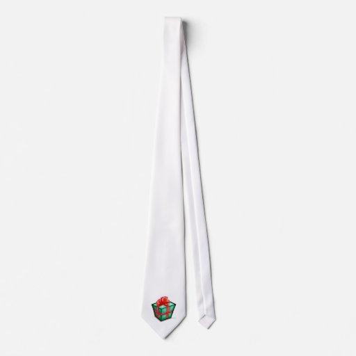 Caja de regalo del navidad corbata