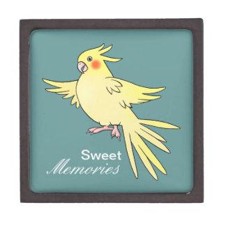 Caja de regalo del pájaro del Cockatiel Cajas De Regalo De Calidad
