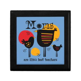 Caja de regalo del profesor de la vida de la mamá