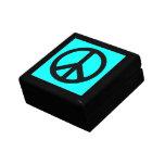 Caja de regalo del signo de la paz