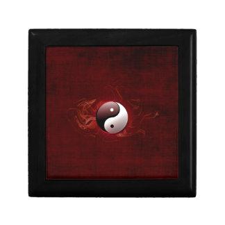 caja de regalo del taoism joyero cuadrado pequeño