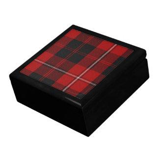 Caja de regalo del tartán de Cunningham