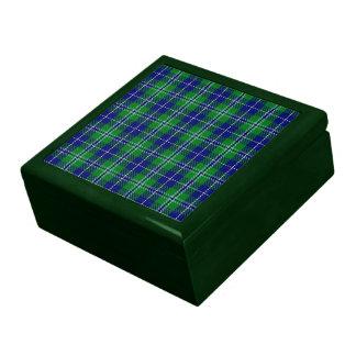 Caja de regalo del tartán de Douglas