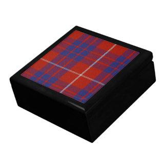 Caja de regalo del tartán de Hamilton
