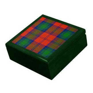 Caja de regalo del tartán de Lindsay