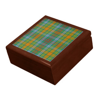 Caja de regalo del tartán de O'Brien