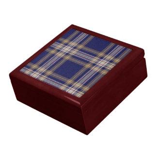 Caja de regalo del tartán del panadero