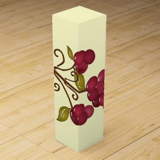 Caja de regalo del vino de las uvas de la diversió caja de vino