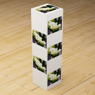 caja de regalo del vino de los ramos de la cala caja para bino