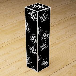 Caja de regalo del vino de los ramos de Westie Caja Para Bino