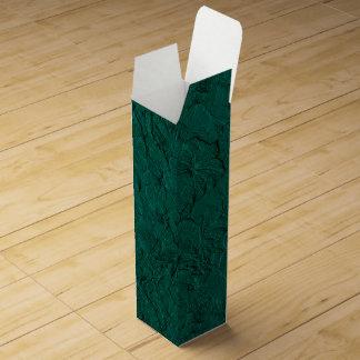 Caja de regalo esculpida del Verde-Vino del jade Cajas De Vino