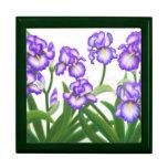 Caja de regalo floral del jardín del iris de la pr