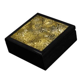 Caja de regalo fundida de la teja de la impresión