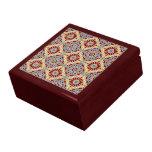 Caja de regalo geométrica islámica del modelo