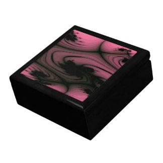 Caja de regalo gótica de los remolinos