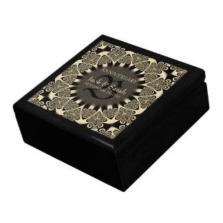 Caja de regalo gótica del aniversario de boda de l