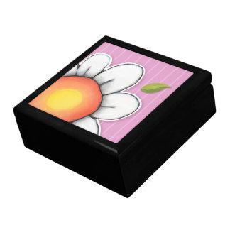 Caja de regalo grande de la teja del rosa de la al