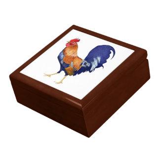 Caja de regalo grande del gallo