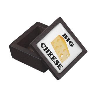 Caja de regalo grande divertida del queso de Boss Caja De Joyas De Calidad