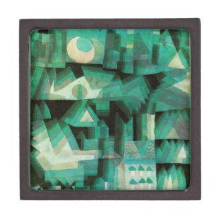 Caja de regalo ideal de la ciudad de Paul Klee Caja De Recuerdo De Calidad