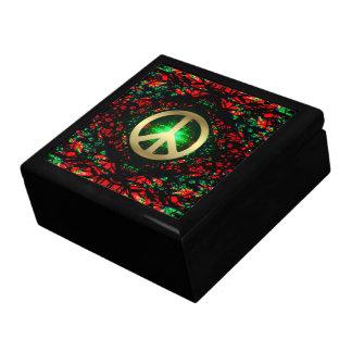 Caja de regalo laqueada luz interna de la energía
