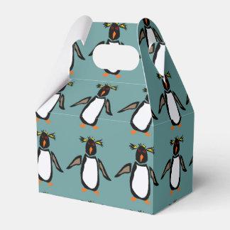 Caja de regalo linda del pingüino de Rockhopper Caja Para Regalos