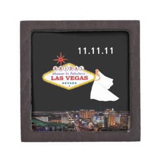 Caja de regalo nupcial de la ducha de Las Vegas Cajas De Regalo De Calidad