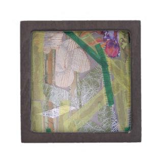 Caja de regalo pequeña con collage cajas de regalo de calidad
