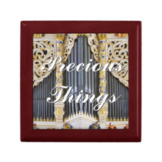 Caja de regalo preciosa del órgano de las cosas