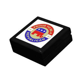 Caja de regalo republicana orgullosa