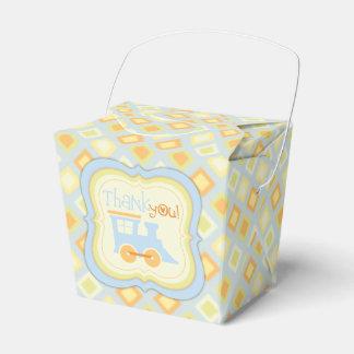 Caja de regalo retra de la fiesta de bienvenida al caja para regalos de fiestas