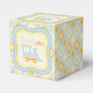Caja de regalo retra de la fiesta de bienvenida al cajas para regalos