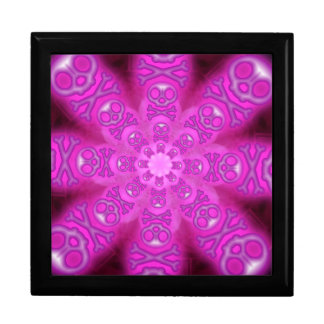 Caja de regalo rosada de la explosión de la estrel