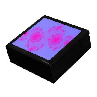 Caja de regalo rosada del estornudo joyero cuadrado grande