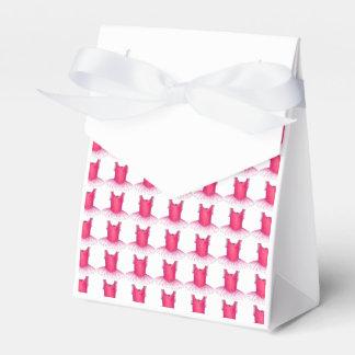 Caja de regalo rosada del profesor de la danza de caja para regalo de boda