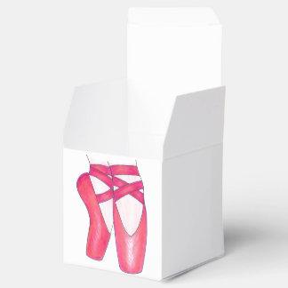 Caja de regalo rosada del profesor de la danza de cajas para regalos