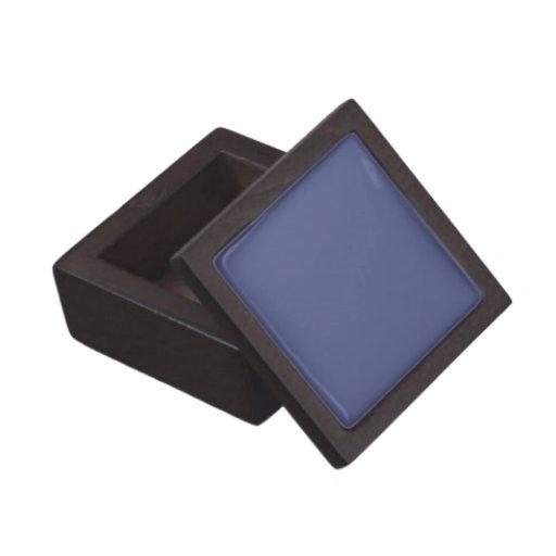 Caja de regalo superior azul de Wedgewood del país Caja De Joyas De Calidad