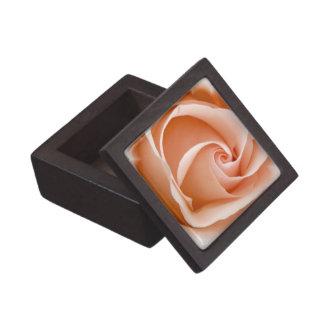 Caja de regalo superior de la foto color de rosa caja de recuerdo de calidad