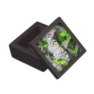 Caja de regalo superior de la mariposa de monarca cajas de recuerdo de calidad