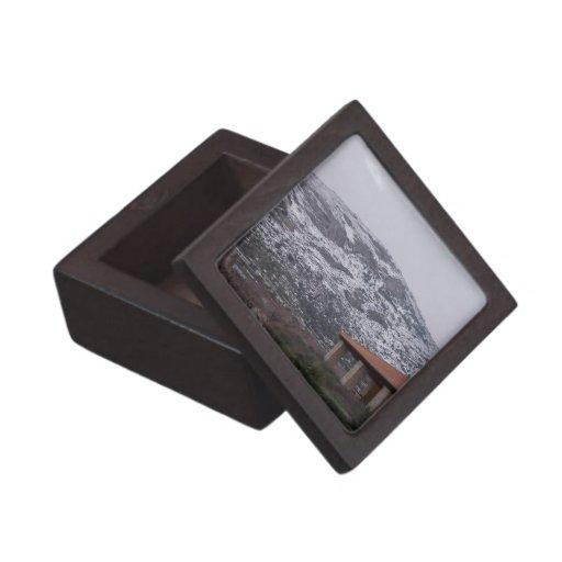 Caja de regalo superior de la montaña Nevado Cajas De Joyas De Calidad