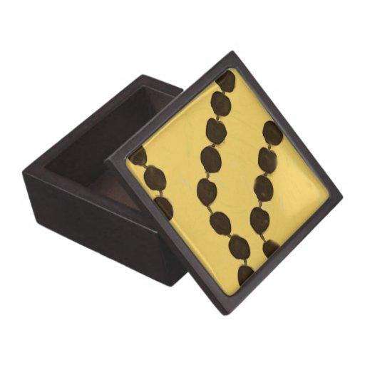 Caja de regalo superior de la nuez hawaiana de Kuk Caja De Joyas De Calidad