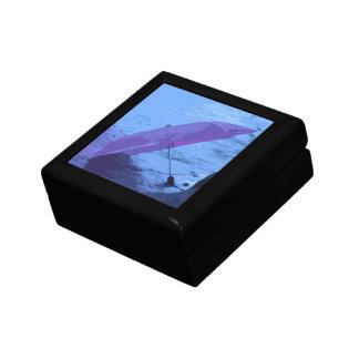 Caja de regalo superior de madera pintada del para
