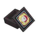 Caja de regalo superior de Papá Noel Cajas De Joyas De Calidad