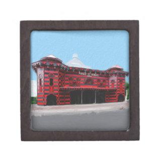 Caja de regalo superior de Parque de Bombas de Pon Caja De Joyas De Calidad