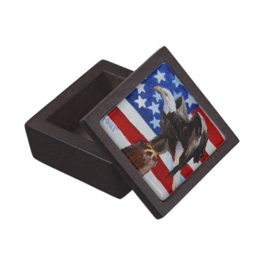 Caja de regalo superior del aceo de Eagle de la li Caja De Joyas De Calidad