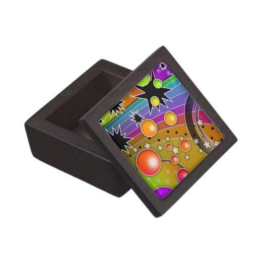 Caja de regalo superior del arco iris de Big Bang Caja De Recuerdo De Calidad