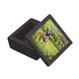 Caja de regalo superior del caballo de Eventing Cajas De Recuerdo De Calidad