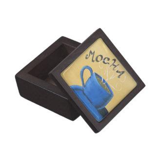 Caja de regalo superior del café caja de recuerdo de calidad